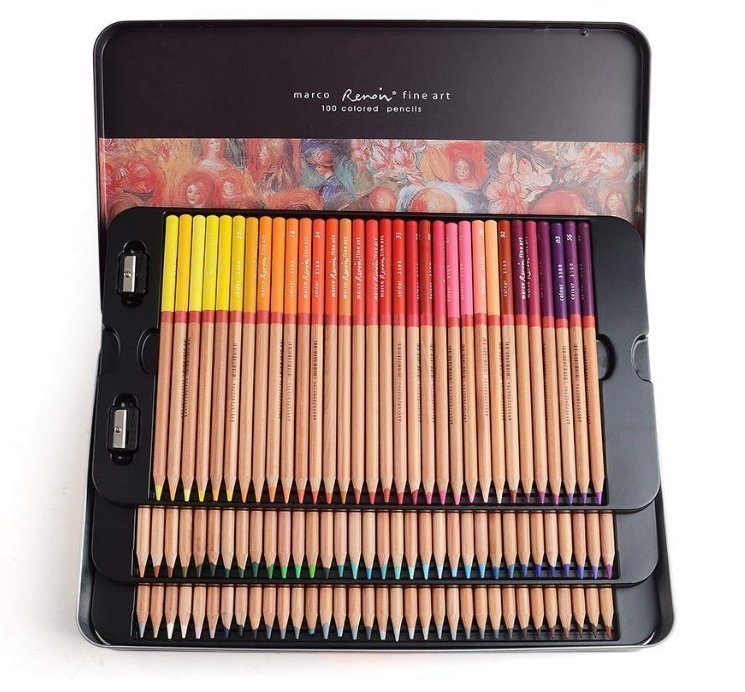 Best colored pencils for artists - Renoir