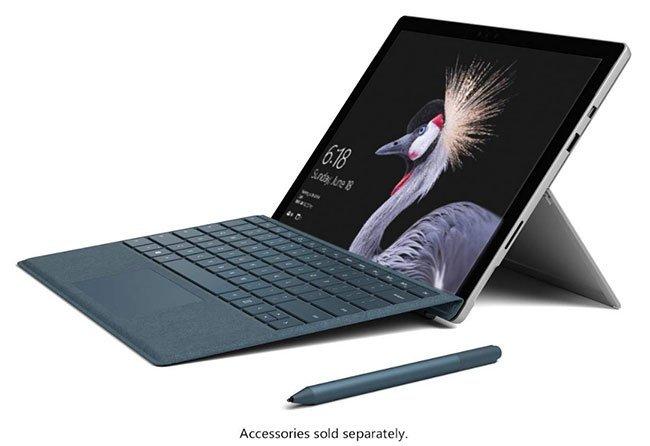 Microsoft Surface Pro - Tablette graphique autonome avec écran