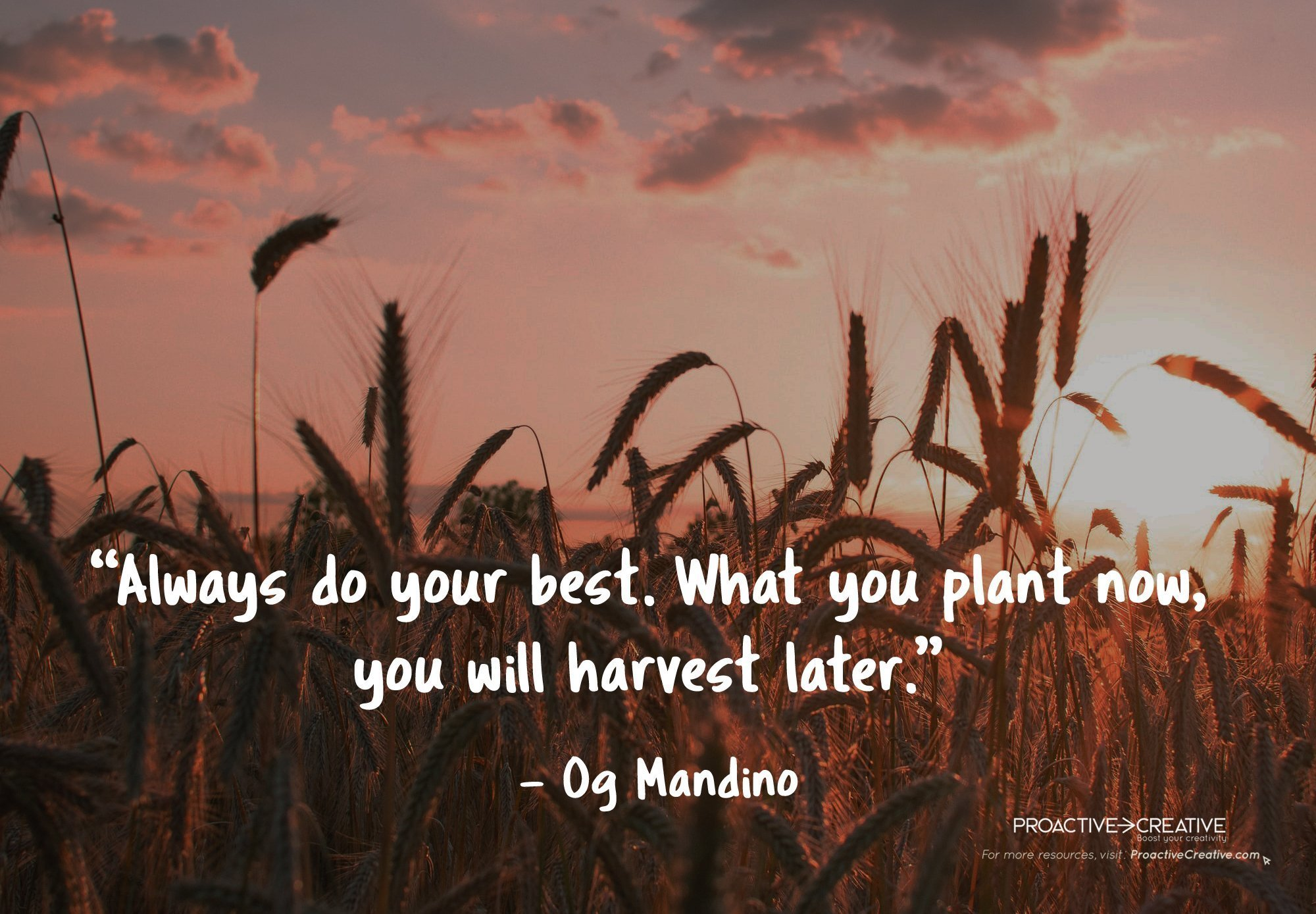 Creativity Quote Og Mandino