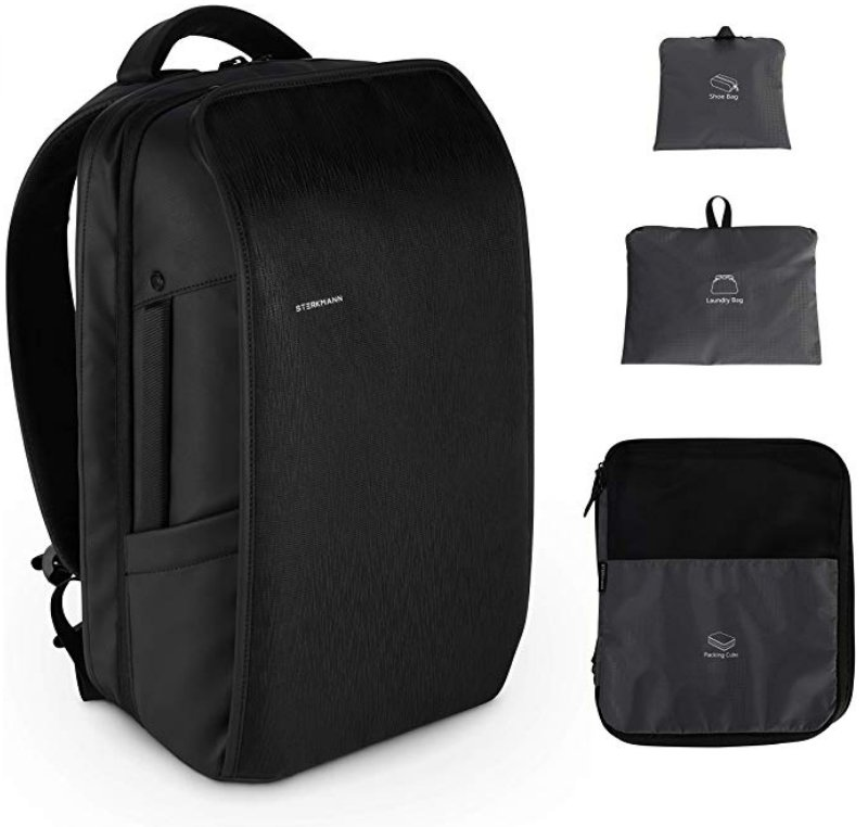 Sterkmann Expandable Carry on Backpack