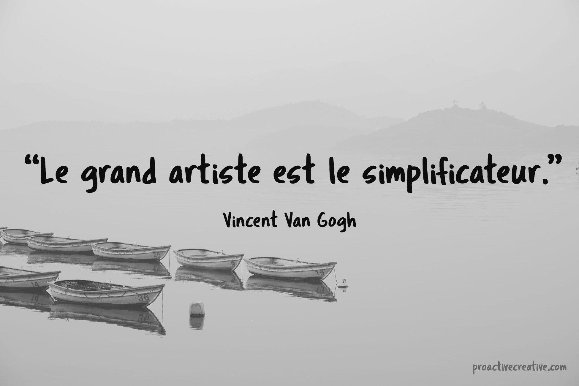 Citations d'art - Vincent Van Gogh