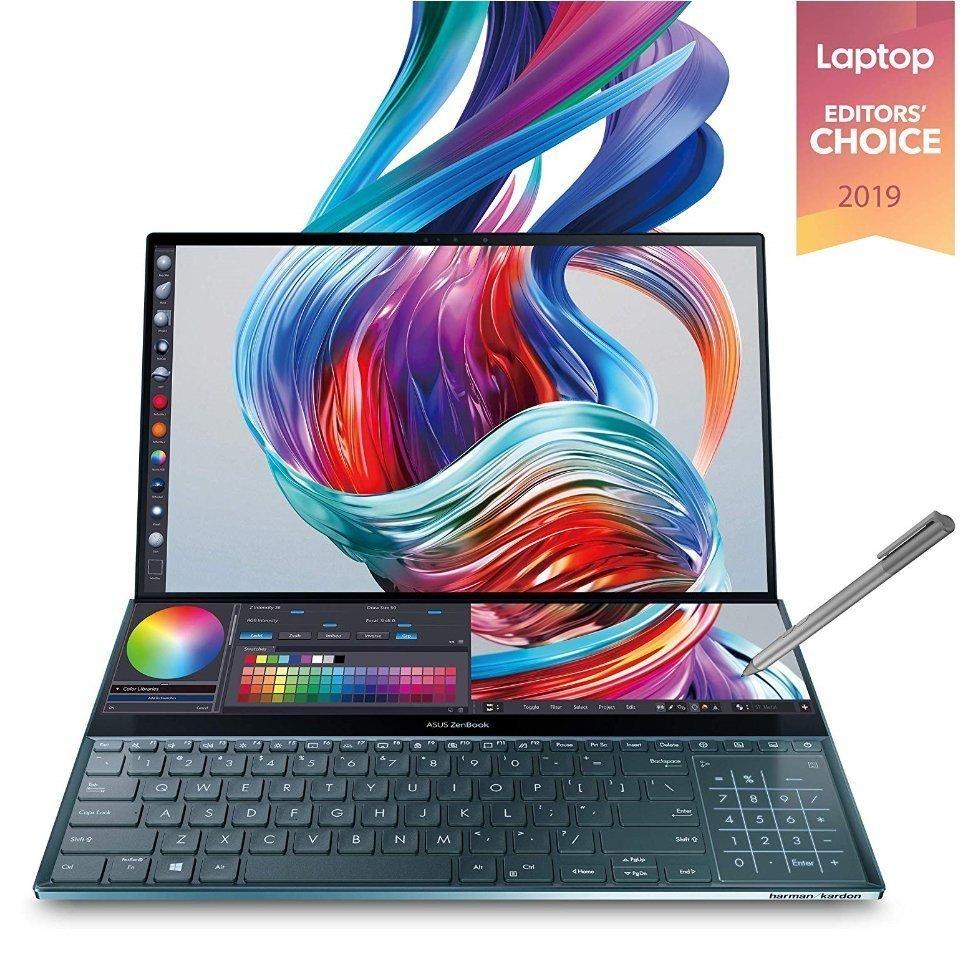 Best laptop for artists - Asus ZenBook Pro Duo UX581 15.6