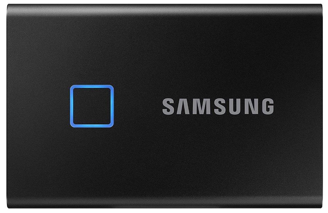 best ssd external hard drive - Samsung T7 Touch Portable SSD