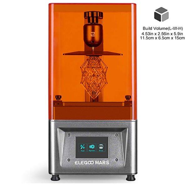 imprimante 3d comparatif - imprimante 3d moins de 500 - ELEGOO Imprimante 3D LCD UV à Photopolymérisation