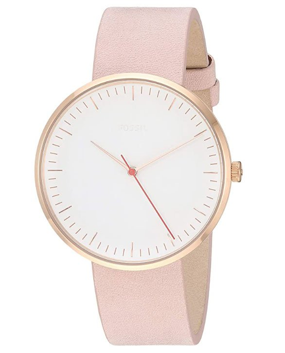 Fossil Women Essentialist Stainless Steel Casual Quartz Watch - Idée cadeaux minimalistes