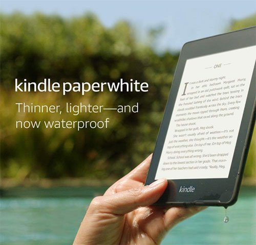 Kindle Paperwhite - Best gifts for minimalists