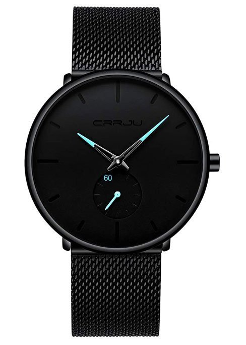 Mens Watches Ultra-Thin Minimalist Waterproof - Idée cadeaux minimalistes