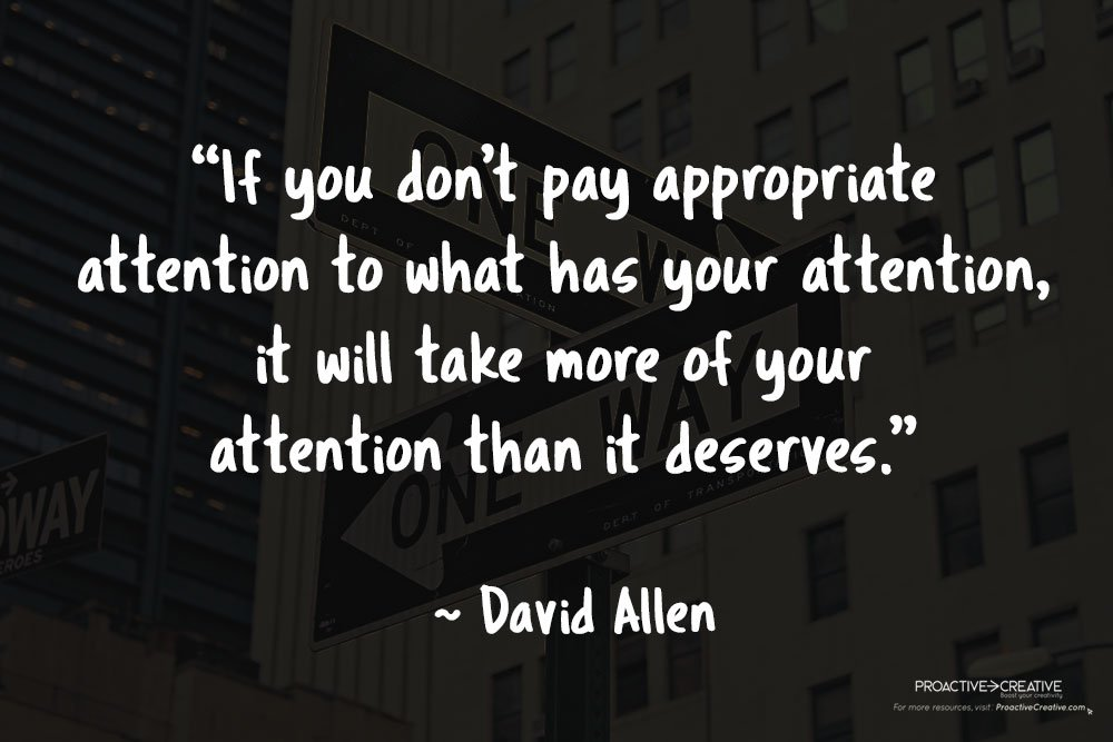 Quotes about productivity - David Allen