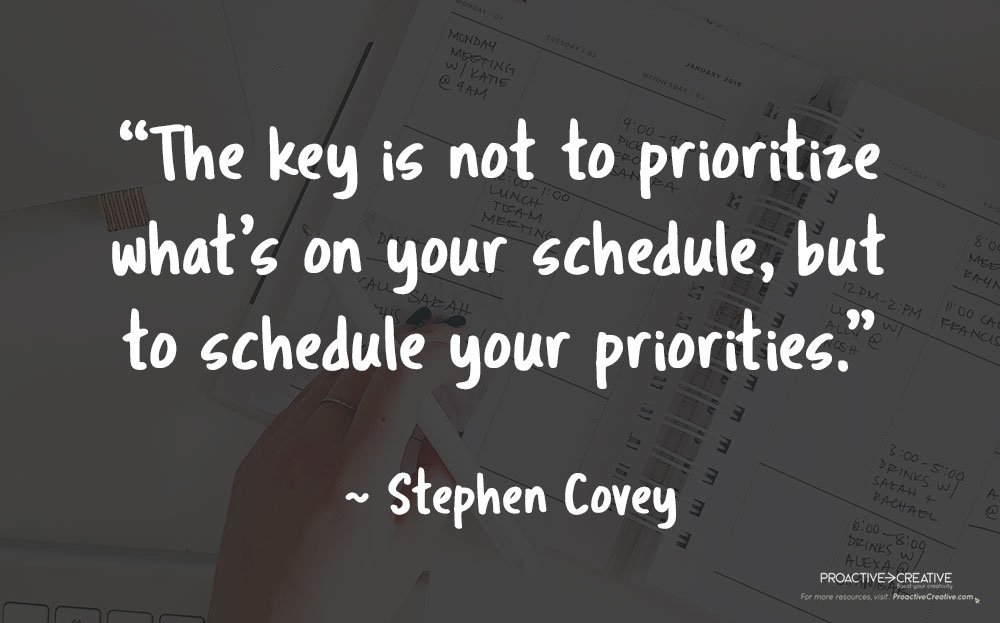 Quotes about productivity - Stephen Covey