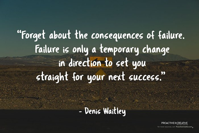 Best quotes about the fear of failure - Denis Waitley