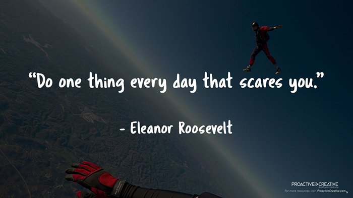 Best quotes about the fear of failure - Eleanor Roosevelt