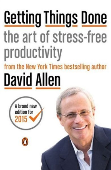getting things done by david allen - best books on self discipline
