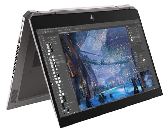 Best laptop for drawing - HP ZBook Studio x360 G5