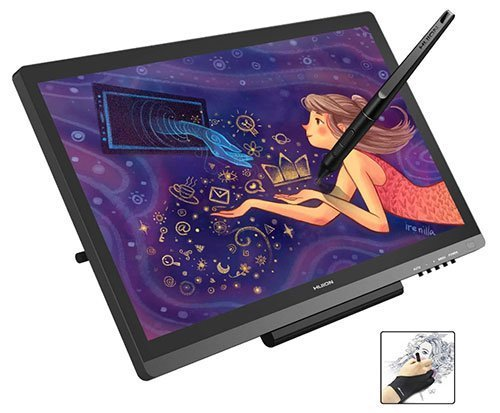 Huion KAMVAS GT-191V2 Graphics Drawing Monitor Drawing Tablets with IPS Screen