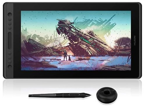 Huion Kamvas Pro 16 drawing tablet with screen