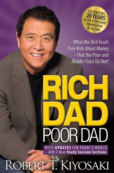 best self help book - roch dad poor dad robert t.kiyosaki
