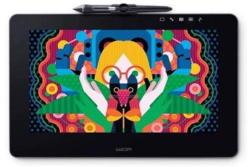 "wacom dth1320ak0 cintiq pro 13"" creative pen display with link plus"