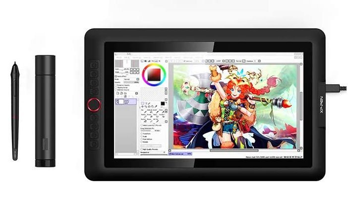 XP-PEN Artist 15.6 Pro cheap drawing tablet with screen