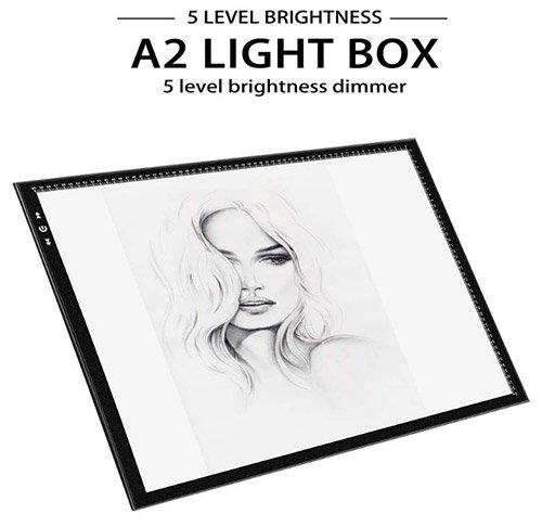 Tablette lumineuse - Boite à lumière - A2 Tablette Lumineuse