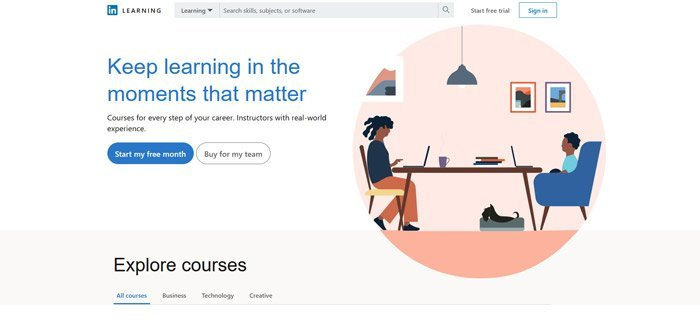 LinkedIn Learning - Best alternatives to Udemy