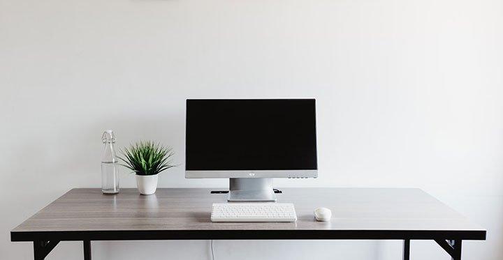 foldable computer desk - portable computer desk