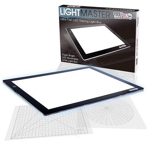 """Tablette lumineuse - Boite à lumière - US ART SUPPLY Lightmaster 32.5"""" Extra Large(A2)"""
