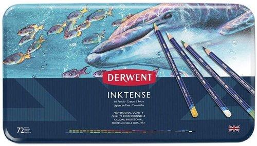 Best Watercolor Pencils for Artists - Derwent Inktense Pencils
