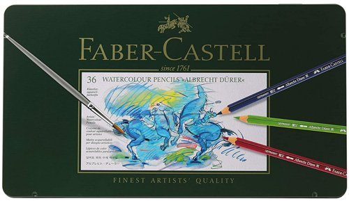 Best Watercolor Pencils for Artists - Faber-Castel Albrecht Durer Artist Watercolor Pencils
