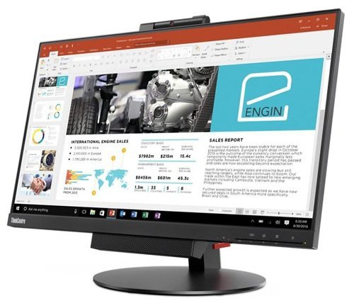 Lenovo Thinkcentre Tiny-In-One 24 - The best computer monitor with camera and microphone built-in