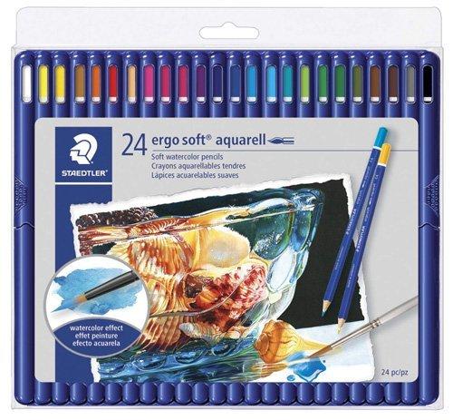 Best Watercolor Pencils for Artists - Staedtler ergosoft aquarell