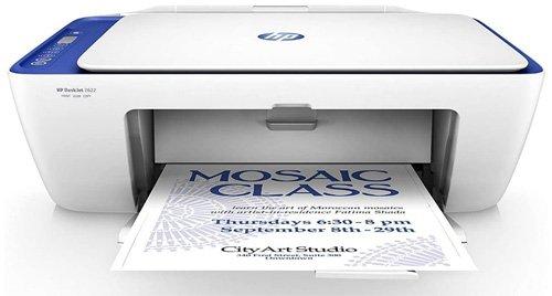 Les meilleures imprimantes pour les enseignants et l'école à la maison - HP DeskJet 2622 A Jet d'encre Thermique