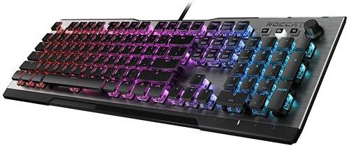 Best silent mechanical keyboard - ROCCAT Vulcan 100 Aimo RGB Mechanical Gaming Keyboard