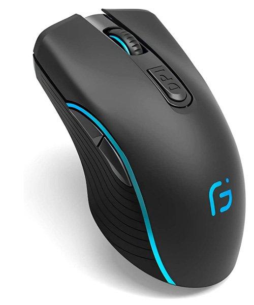 Meilleure souris gamer silencieuse - VEGCOO C8 Clic silencieux