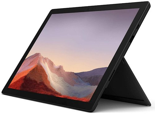 Tablet with pen & stylus Microsoft Surface Pro 7