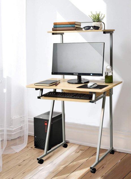 Small computer workstation desk - Aingoo Writing Desk Small Portable Study Laptop PC Computer Work Workstation