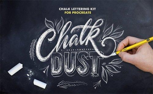 Chalk Procreate Brushes