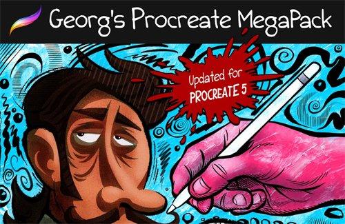 Georg's Procreate Megapack