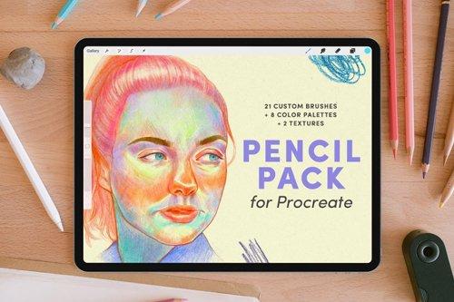 Pencil Pack - Procreate Brushes