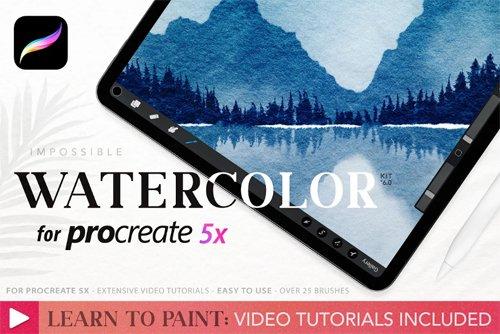 Procreate Watercolour Kit