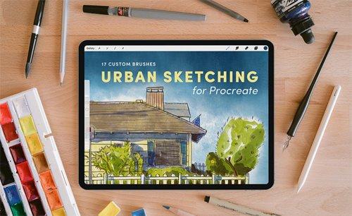 Urban Sketching – Procreate Brushes