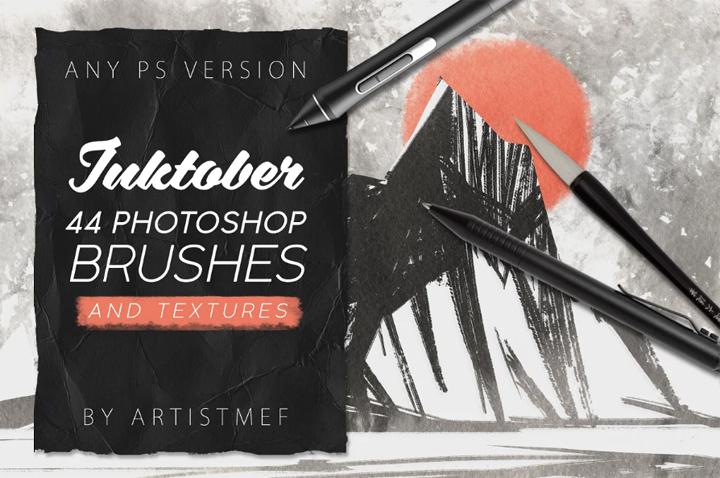 Inktober Procreate&Photoshop Brushes